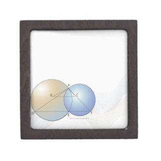 Formula, graph, math symbols 7 gift box