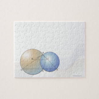 Formula, graph, math symbols 7 jigsaw puzzle