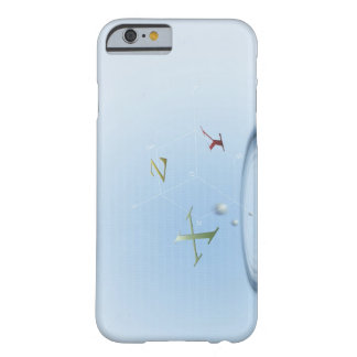 Formula, graph, math symbols 9 barely there iPhone 6 case
