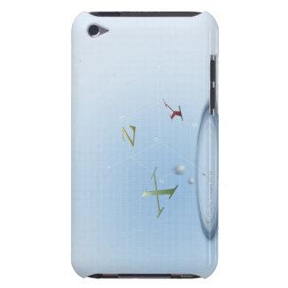 Formula, graph, math symbols 9 iPod touch case