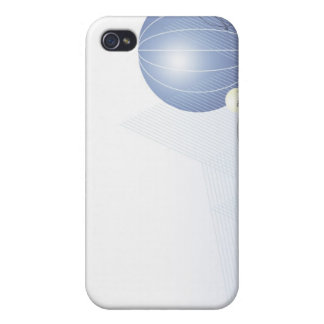 Formula, graph, math symbols iPhone 4 case