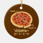 Fórmula matemática = Pi*z*z*a del volumen de la pi Ornamento De Reyes Magos