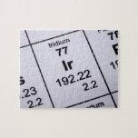 Fórmula molecular del iridio puzzle con fotos