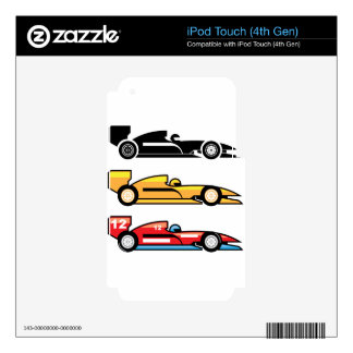 Formula One Racing iPod Touch 4G Skins