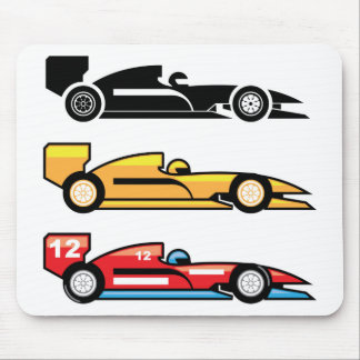 Formula One Racing Mouse Pad