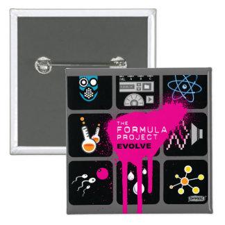 Formula Project Square Button - Customized