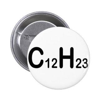 Fórmula química del combustible diesel pin redondo de 2 pulgadas