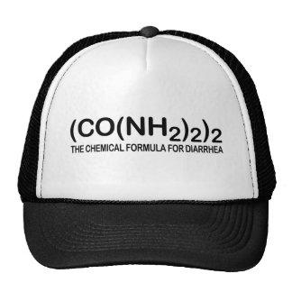 Fórmula química divertida para el gorra del camion