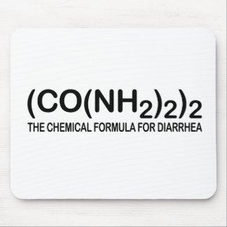 Fórmula química divertida para la diarrea Mousepad Alfombrillas De Raton