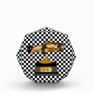 Formula Race Car Trophy Award