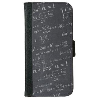 Fórmulas de las matemáticas en la pizarra - único carcasa de iPhone 6