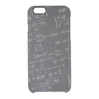 Fórmulas de las matemáticas en la pizarra - único funda clearly™ deflector para iPhone 6 de uncommon