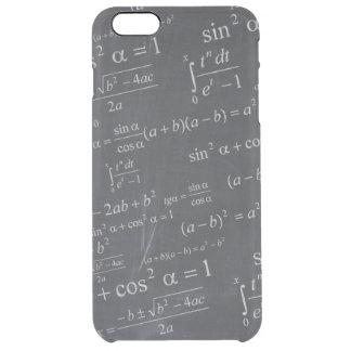 Fórmulas de las matemáticas en la pizarra - único funda clearly™ deflector para iPhone 6 plus de unc