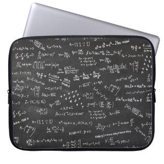 Fórmulas y números de la matemáticas funda ordendadores