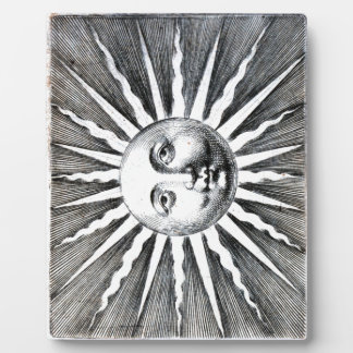 Fornasetti's Sun Anthropomorphized Plaque