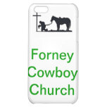 forney cowboy church iPhone 5C cases