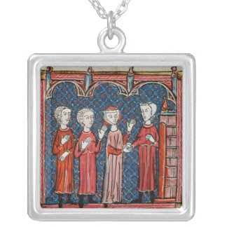 Fornication and Crime Committed by a Priest Silver Plated Necklace