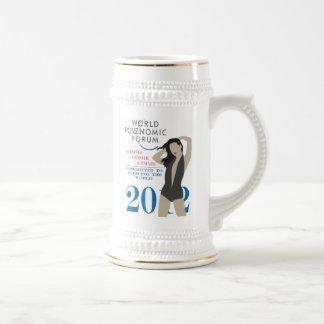 Foro de Ponzinomic del mundo - Davos 2012 - Jarra De Cerveza