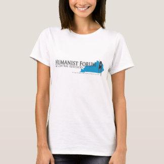 Foro del humanista de la camiseta ligera cabida KY