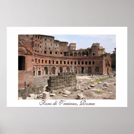 Foro di Traiano Panorama Poster