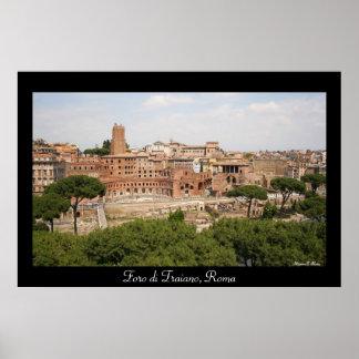 Foro di Traiano Roma Poster