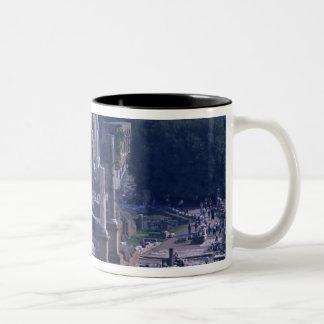 Foro Romano 2 Two-Tone Coffee Mug