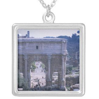 Foro Romano 4 Square Pendant Necklace