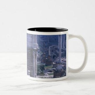 Foro Romano 4 Two-Tone Coffee Mug