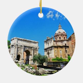 Foro romano ornamento de navidad