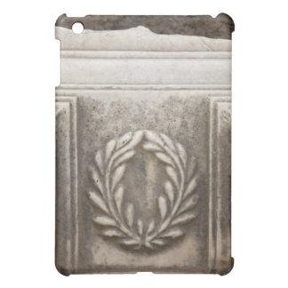foro romano, diseño del laurel en el bloque de pie