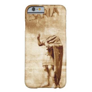 foro romano, estatua sin cabeza del líder romano funda de iPhone 6 barely there