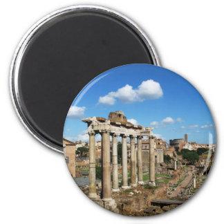 Foro romano imán redondo 5 cm