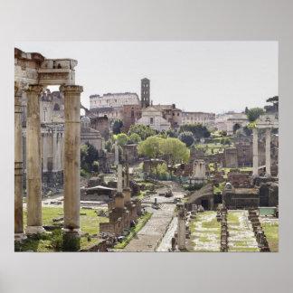 Foro romano póster