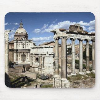 Foro romano, Roma, Italia Alfombrillas De Ratón