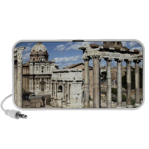 Foro romano, Roma, Italia Laptop Altavoz
