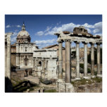 Foro romano, Roma, Italia Posters
