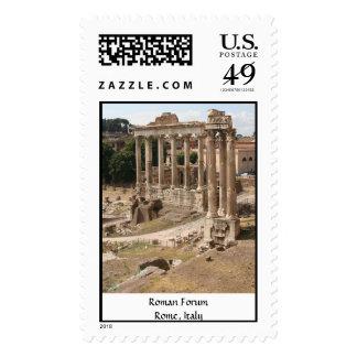 Foro romano - Roma, Italia Franqueo