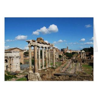 Foro romano felicitación