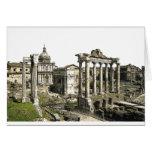 Foro romano tarjeta de felicitación