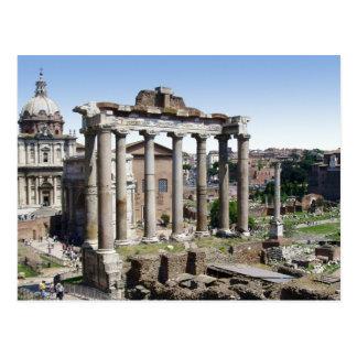 Foro romano tarjeta postal
