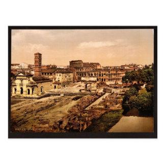 Foro Romanum del Palatine, vinta de Roma, Italia Postales