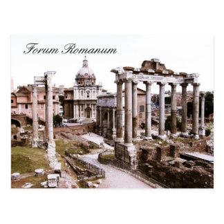 Foro Romanum, Roma, Italia Postal