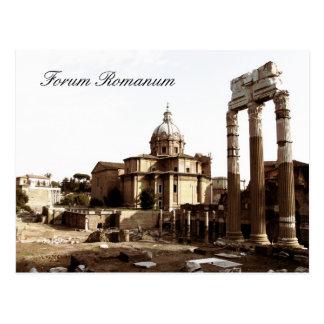 Foro Romanum, Roma, Italia Postales