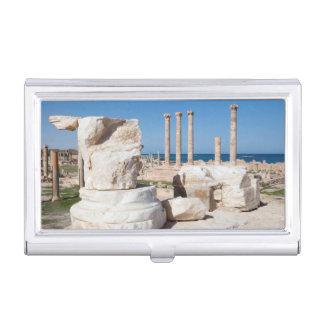 Foro y restos romanos de la estatua, Sabratha, AZ Cajas De Tarjetas De Negocios
