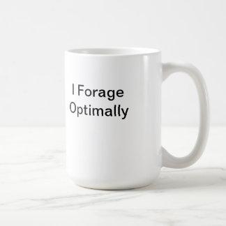 Forrajeo óptimo la taza