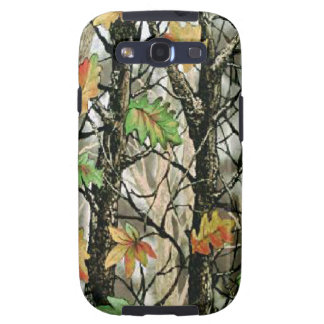 Forrest Camo Pattern Samsung Galaxy S3 Vibe Galaxy SIII Cases