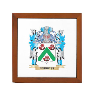Forrest Coat of Arms - Family Crest Pencil/Pen Holder