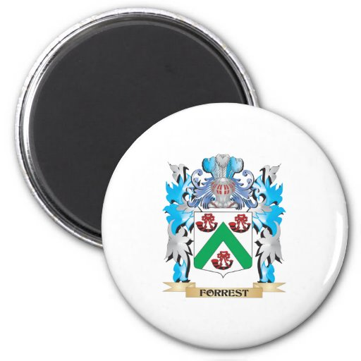 Forrest Coat of Arms - Family Crest Magnets