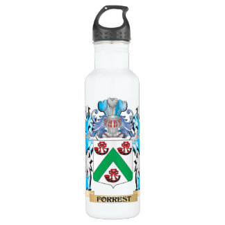 Forrest Coat of Arms - Family Crest 24oz Water Bottle