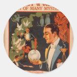 "Forrest & Company, ""hombre vintage de muchos miste Pegatinas"